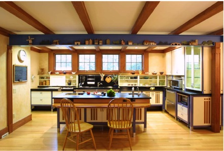 This Kitchen Features A Tall, Deep Toekick Area, Base Cabinet Drawers,  Lowered Wall. Universal Designs