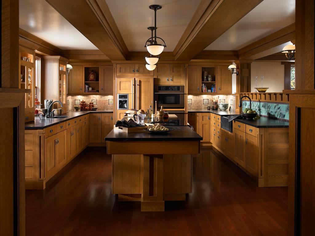 Oak Park Kitchen by Brookhaven