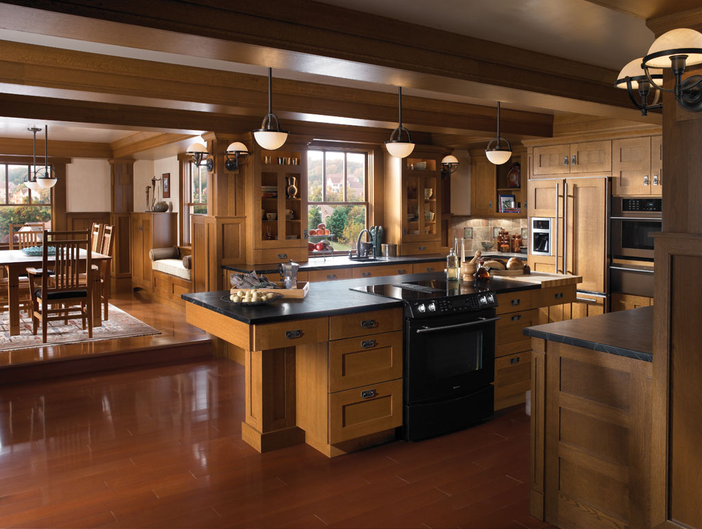 Oak Park kitchen by Brookhaven