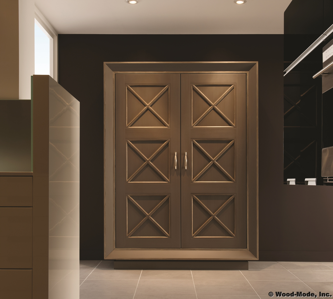 Penthouse Armoire by Wood-Mode