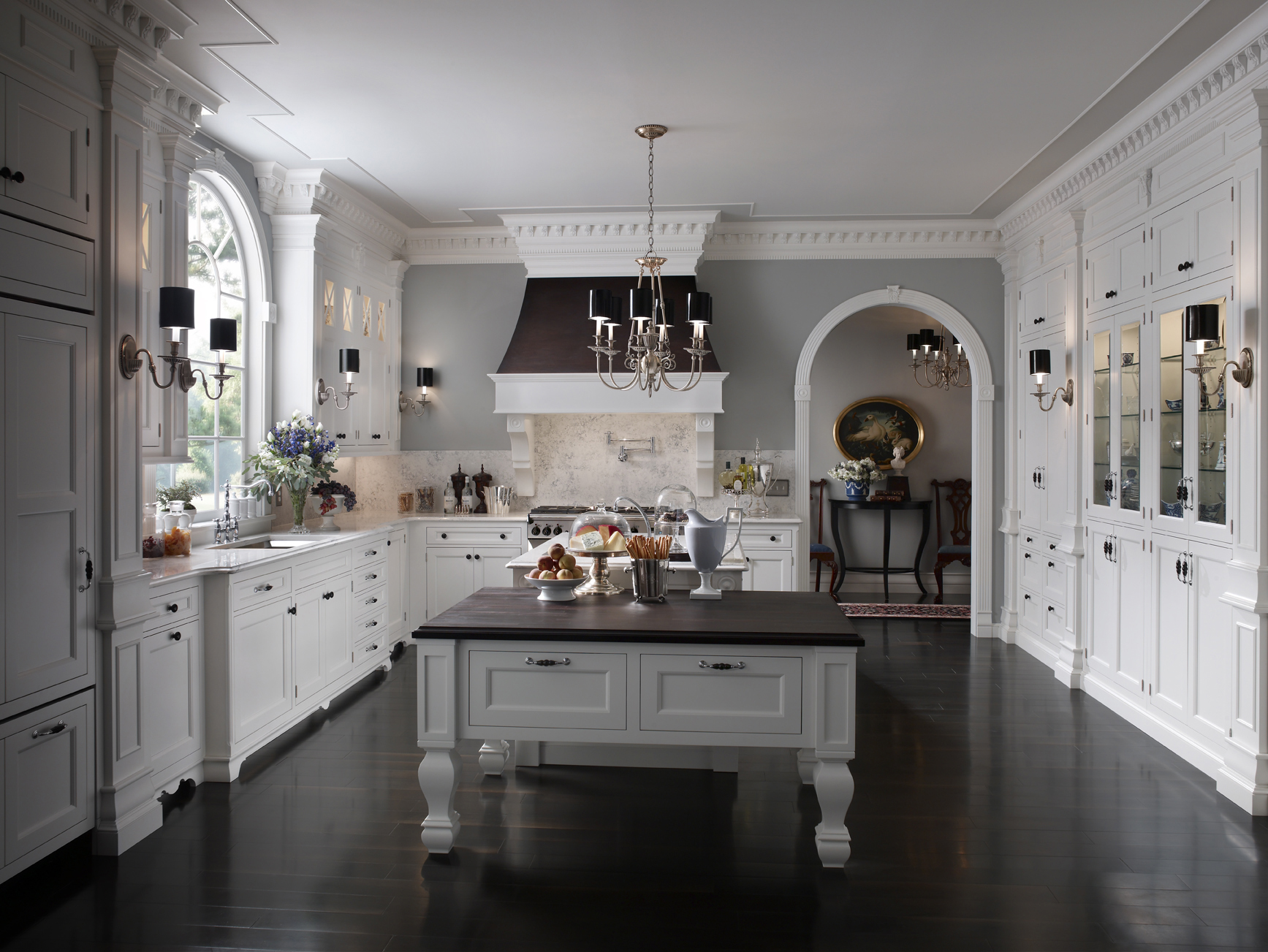 woodmode south hampton  custom cabinet designs custom