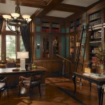 Gentlemen Quarters Home Office by Wood-Mode