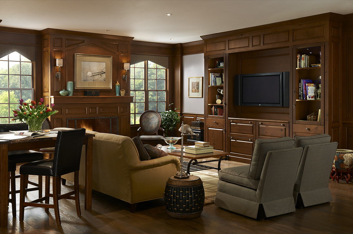 Woodland Meadows Entertainment Center by Brookhaven