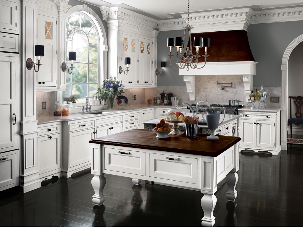 South hampton for Beautiful kitchen island designs