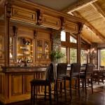 Mountain Retreat Bar by Wood-Mode