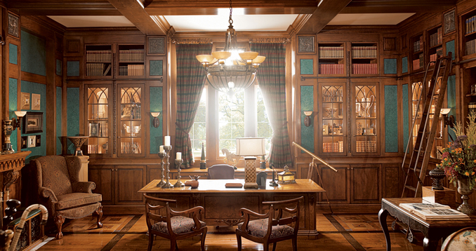 Small Luxury Home Office: Empty Nest Conversions: Create A Home Office