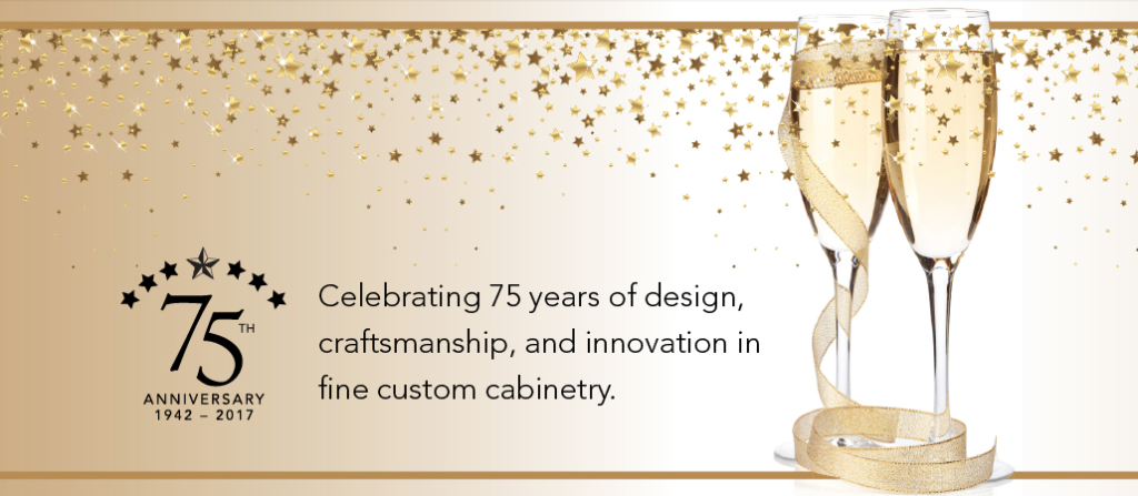 Wood-Mode Custom Cabinetry 75th Anniversary