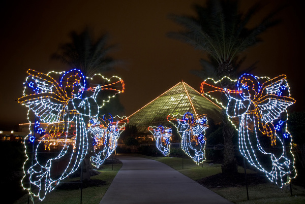 Moody Gardens Festival Of Lights In Galveston