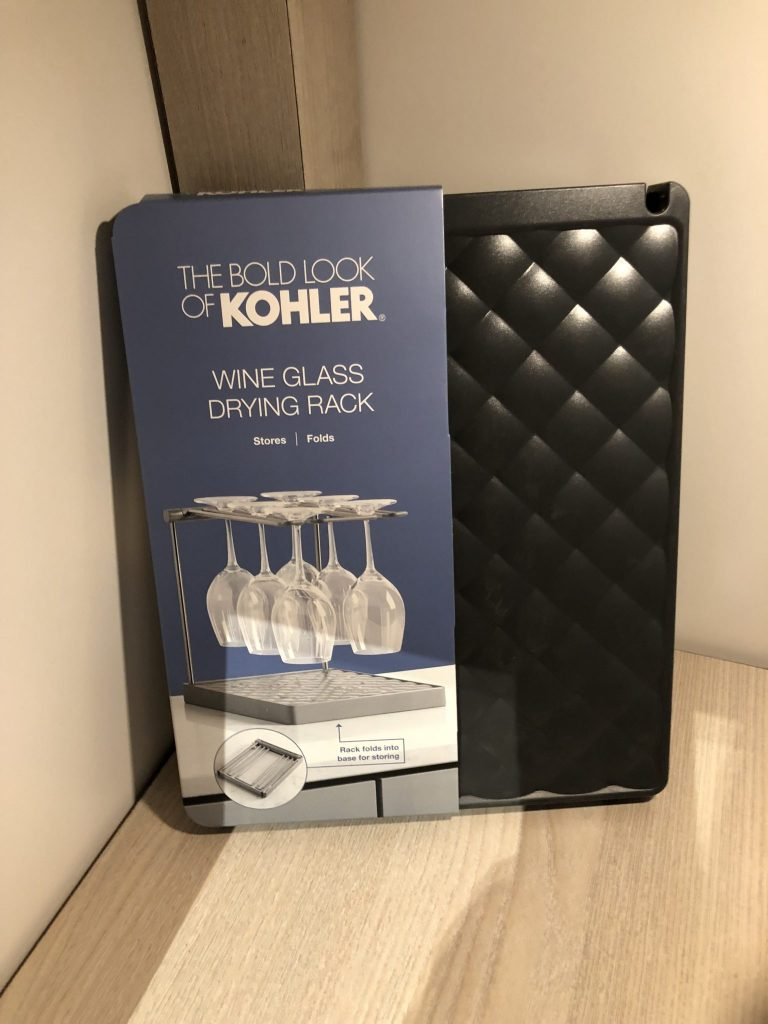 Kohler Wine Glass Drying Rack
