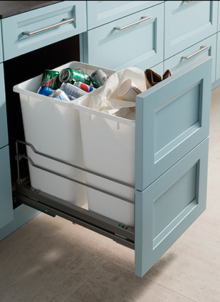 Trash Can Pullout Cabinet