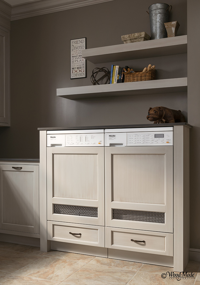 Wood-Mode Pet Parlor Laundry Room