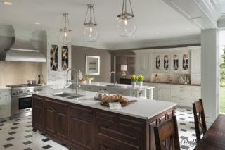 Wood-Mode Brookhaven Embassy Row Custom Kitchen
